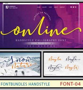 فونت fontbundles handstyle
