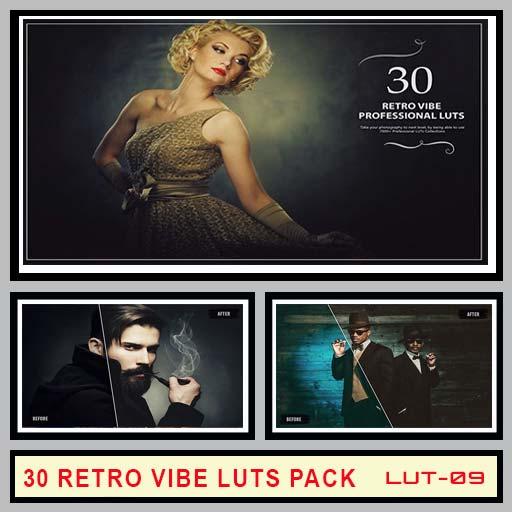 Retro Vibe LUTs Pack